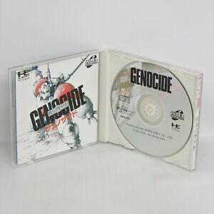 GENOCIDE PC Engine SCD 0779 pe