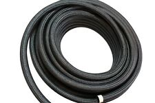 -12 AN Braided Nylon Fuel Line Hose 1500 PSI CPE Synthetic Rubber AN12 12AN 3/4