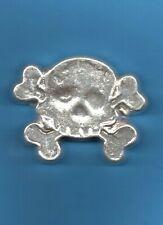 Monarch Precious Metals Skull & Crossbones 5 oz .999  Silver Bar #'d 407/1000