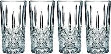 Wine Glasses Hiball Collins 4-Piece Fine Crystal 13 Ounce Lead Free Crystalline