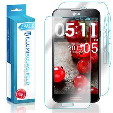 2x iLLumi AquaShield HD Front Screen + Back Panel Protector for LG Optimus G Pro