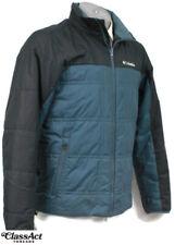 Columbia Thermal Comfort Omni-Heat Men's Teal Black Jacket Size S