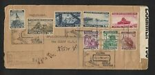 WW2 POLAND FORCES IN UK TO USA AIR MAIL COVER 1942