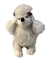 "t.l. toys plush white plush Poodle Dog 20"" long floppy ears Soft Stuffed Animal"