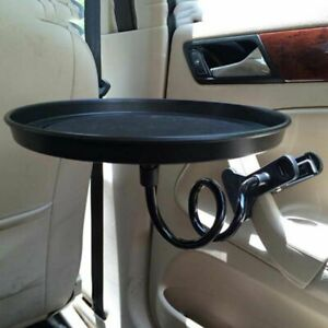 1 pc Phone Desk Stand Holder Food For Car Auto Cup Table Portable Clip Tray