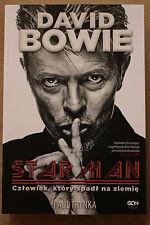 David Bowie. Starman. Człowiek, który spadł na ziemię POLISH BOOK NEW SEALED