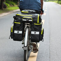 KQ_ 3 in 1 Multifunction Bicycle Trunk Bag Bike Pouch Rear Rack Luggage Carrier