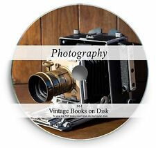 Rare Vintage Photography Books on DVD  Film Camera SLR History Art Photo Lens 61