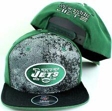 "New York Jets NFL Cap Youth WHOLESALE 10 UNITS ""Magna"" Flatbrim Snapback 1 Size"