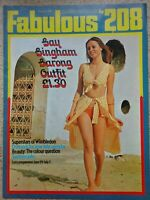 Fabulous 208 Magazine......3rd. July  1971...VINTAGE COLLECTABLE MUSIC MAGAZINE.