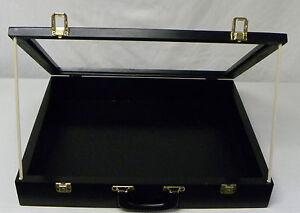 Trade Show Display Case Black P304 Show Display Case