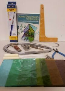 Stained Glass Pro Lead Kit - Glass & Lead Came   - Ideal Gift