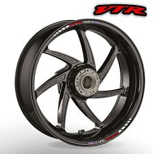 Honda VTR PS 1 2 Wheel rim stickers decals - choice of 20 colours - 1000 RC51