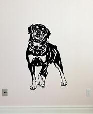 Rottweiler Dog Wall Decal Nursery Pets Poster Vinyl Sticker Decor Mural 38aaa