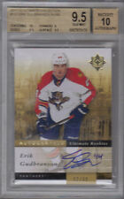 11-12 Ultimate Erik Gudbranson Rookie Card RC #132 Mint 82/99 BGS 9.5 auto 10