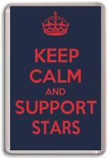 KEEP CALM AND SUPPORT STARS, DUNDEE STARS ICE HOCKEY Fridge Magnet
