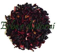 Infuso alla frutta Tisana FRUTTI DI BOSCO Mirtillo,Ribes,Sambuco,Karkadè 100 gr.