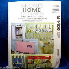 McCall's 4406 Home Decor Organizers 6 Designs Pattern