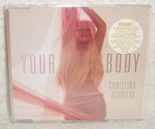 Christina Aguilera Your Body Taiwan CD w/sticker (Papercha$er Radio Mix)