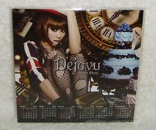 Koda Kumi Dejavu Taiwan Promo 2011-year Calendar Card