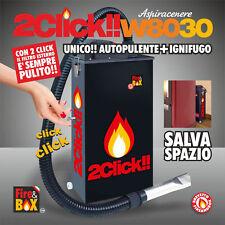 Aspiracenere Fire&Box W8030 2CLICK - filtro ignifugo 1 sola pulizia a stagione