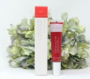 Julep Luxe Up Your Lips Tinted Conditioning Lip Treatment Poppy 0.42 Oz. NIB