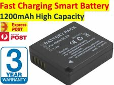 Fast Charging Battery for Panasonic DMW-BLE9, DMW-BLG10 Panasonic Lumix DMC-GF3