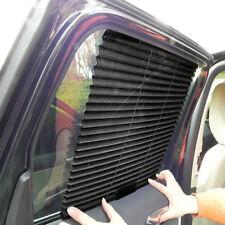 2pc Auto Car Retractable Side Window Sunshade Visors Block Cover Anti-UV Shadow