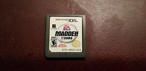 Nintendo DS Madden 2005 EA SportsCartridge only