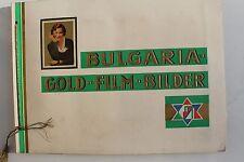 23689 BULGARIA GOLD FILM BILDER Zigaretten Album 1933 cards Schauspieler