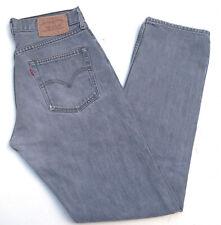 Levis LEVI's 517 señores Men Jeans Hose 30/34 w30 l34 stonewashed gris top a422