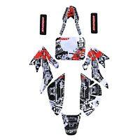 Decal Graphics Sticker Kit f CRF50 Dirt Bike 50cc 70cc 110cc 125c Atomik SSR DHZ