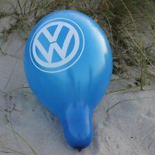 "10 schöne große blaue VW Luftballons, balloons, Palloncini, Globos Belbal 14"""