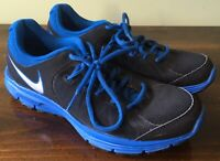 NICE Boys Size 6Y Nike Blue and Black Lunar Forever 3 Tennis Shoes