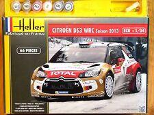 Heller 1:24 Citroen DS3 WRC 2013 Rally Car Gift Set Model Kit