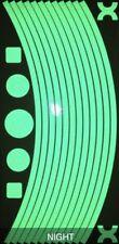 Genuine Green REFLX reflective Wheel Stickers Mountain bike Rims Reflex UK