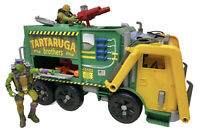 Teenage Mutant Ninja Turtles Tartaruga Brothers Garbage Truck Playset 2 Figures