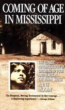 COMING OF AGE IN MISSISSIPPI by Anne Moody FREE SHIPPING paperback book racism