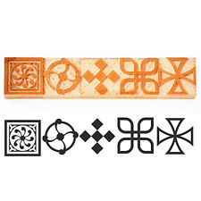 Letterpress Corner Ornament Wood Type 6 Line 245 Mm 5 Pieces