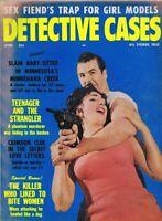 ORIGINAL Vintage June 1963 Detective Cases Magazine GGA