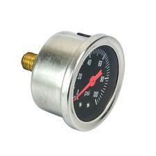 Black Face 0-100 psi  Fluid Filled Universal Fuel Pressure gauge