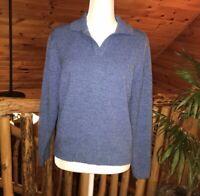 Women's Carolyn Taylor Blue Sweater Size L