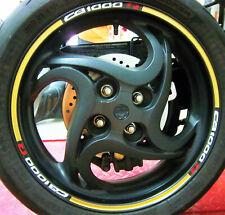 """Adesivi per ruote cerchi moto Honda CB 1000 R """"JP130G"""""""