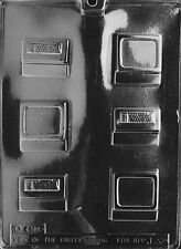 J032 Small Computer Chocolate Mold w/instructions