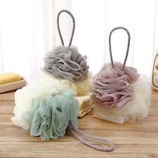 Large Exfoliating Body Puff Soft Bath Shower Scrunchie Buffer Mesh Net 2020