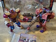 Transformers Takara Beast Wars Metals VS-40 VS40 Convoy Optimus Primal, Megatron