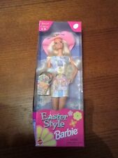 1997 Barbie Doll Easter Style Special Edition Nrfb 17651