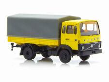 Brekina 34750 Volvo F613 Pritsche Plane gelb 1:87 Neu