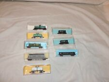 N Scale Assorted tank and hopper cars