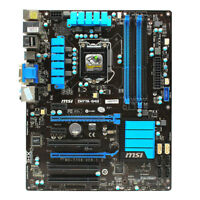 for MSI ZH77A-G43 MS-7758 Motherboard H77 LGA 1155 DDR3 USB3.0 SATA3